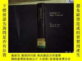二手書博民逛書店Chemistry罕見of Water Treatment(02