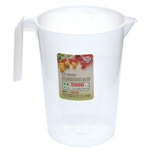 【好市吉居家生活】嚴選聯府KEYWAY~  LF-5000 名廚標準5000CC量水杯 水杯 水壺