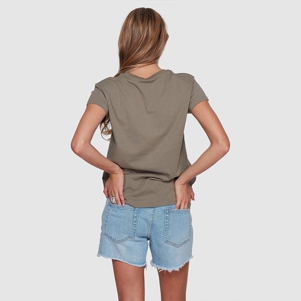 BILLABONG MAGNETIC 女 短袖T恤 棕 6581010BYF【GO WILD】