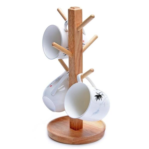 杯架家用水杯架瀝水置物架創意咖啡茶杯架玻璃馬克杯掛架 青木鋪子