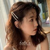 LULUS-特N細長珍珠髮夾組-白  現+預【08190003】