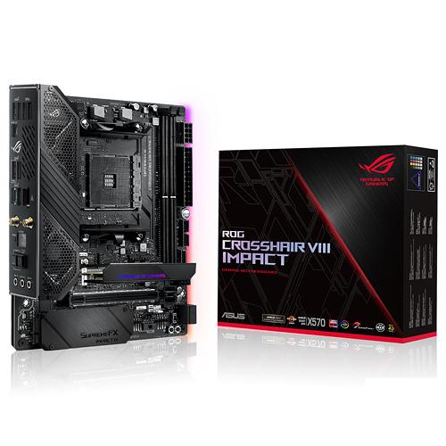 ASUS 華碩 ROG Crosshair VIII Impact Mini-DTX AM4 腳位 AMD X570 主機板