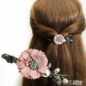 髮夾 發飾橫夾韓國頭飾百搭優雅發夾劉海彈簧夾頂夾盤發發卡成人小號 茱莉亞嚴選