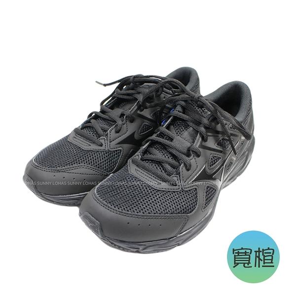 (BY) MIZUNO 男鞋 大童鞋 MAXIMIZER 23 寬楦 基本款 透氣 學生鞋 K1GA210209 全黑 [陽光樂活]