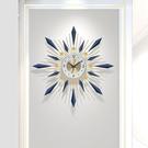 鐘錶掛鐘客廳家用鐘飾時尚大氣靜音時鐘掛墻現代餐廳創意簡約掛錶快速出貨