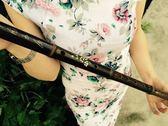 初學專用紫竹笛子教材紮線學生兒童成人樂器HOT1889【歐爸生活館】