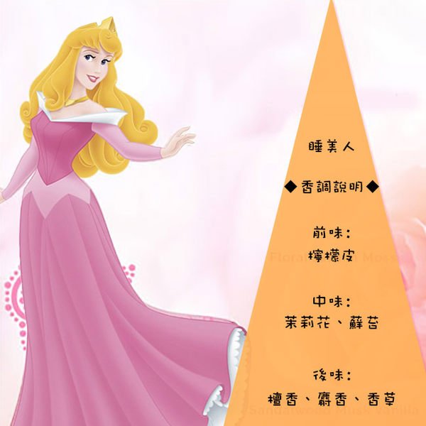 Disney Princess Aurora 睡美人香氛洗髮精 200ml