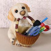 臥室裝飾品 狗家擺件創意客廳玄關實用工藝擺設房間臥室桌面鑰匙收納盒 卡菲婭