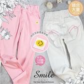 (大童款-女)微笑超彈性薄長褲鉛筆褲-2色(310240)【水娃娃時尚童裝】
