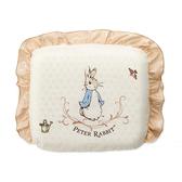【奇哥】優雅比得兔乳膠圓型枕(29x26x4公分)(附贈替換枕套)