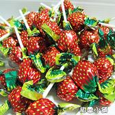 可愛草莓棒棒糖 3000g 甜園小舖