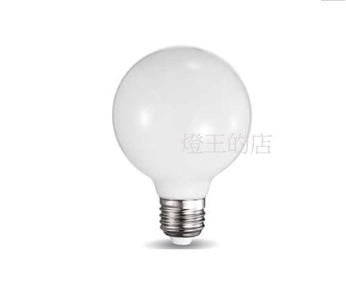【燈王的店】城市美學 LED E27燈頭 5W 龍珠燈泡 白光 全電壓 ☆03017086-5