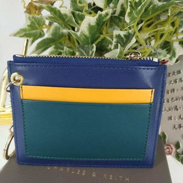 直飛現貨 正品保證】小CK 信封造型名片夾(海軍藍色)錢包 CK6-50680425 皮夾