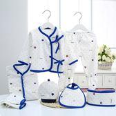 新生兒禮盒7件套新生嬰兒冬季保暖寶寶衣服超萌可愛0-3個月嬰幼兒 免運直出 聖誕交換禮物
