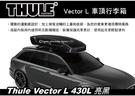  MyRack   【預購95折】Thule Vector L 430L 亮黑 車頂行李箱 雙開車頂箱 613701