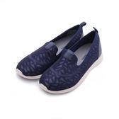 HUSH PUPPIES 玩色幾何輕量便鞋 深藍 6183w116023 女鞋