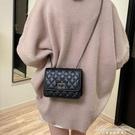 包包女菱格錬條小香風新款時尚潮韓版軟皮休閒側背斜背包