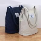 新款帆布包女手提單肩斜挎包女士休閑大容量旅行包小清新學生書包 快速出貨