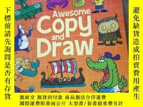 二手書博民逛書店Awesome罕見Copy and DrawY21714