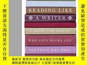 二手書博民逛書店Reading罕見Like A Writer: A Guide