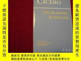 二手書博民逛書店On罕見Academic Scepticism(進口原版,國內