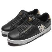 Royal Elastics 休閒鞋 Icon 黑 白 金 無鞋帶設計 皮革鞋面 女鞋【PUMP306】 92074993