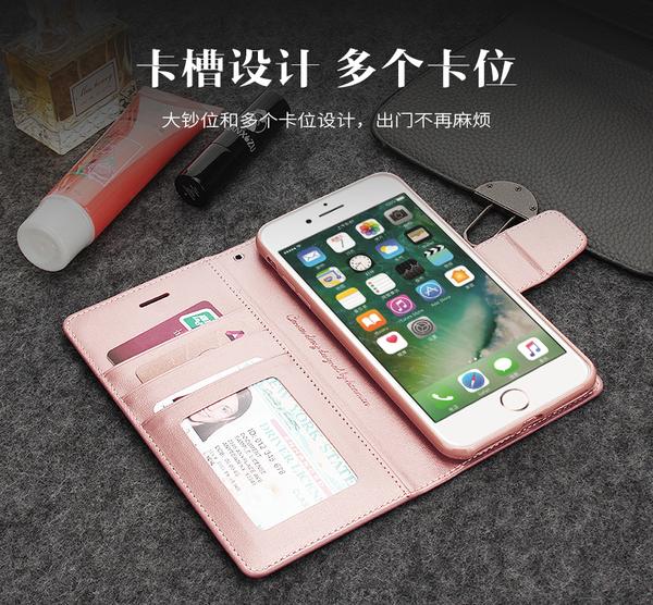 iPhone 6 6S Plus 珠光皮紋手機皮套 掀蓋 商用皮套 插卡可立式 保護殼 全包 外磁扣式 防摔防撞