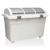 【日本RISU】三分類環保多功能收納大容量垃圾桶100L