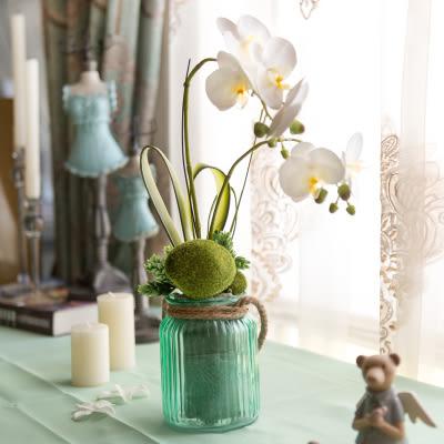 高檔模擬花成品 客廳餐桌擺放絹花套裝  -bri01007