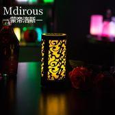 一件85折-桌燈LED發光酒吧檯燈 壓克力充電吧檯燈 創意KTV裝飾桌燈