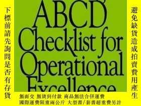 二手書博民逛書店The罕見Oliver Wight ABCD Checklist for Operational Excellen