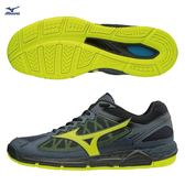 美津濃 MIZUNO 男排球鞋 WAVE SUPERSONIC (黑/螢光綠)  V1GA184047【 胖媛的店 】