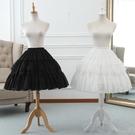裙撐洛麗塔蕾絲魚骨裙撐lolita可調節暴力鳥籠撐 cosplay軟妹半身襯裙 盯目家