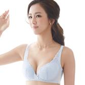思薇爾-舒棉Bra系列B-E罩無鋼圈杯模蕾絲包覆內衣(白霜灰)