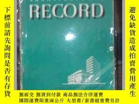 """二手書博民逛書店《ARCHITECTURAL罕見RECORD 》(""""建築四傑""""之"""