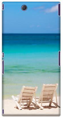 ✿ 3C膜露露 ✿ {海邊*水晶硬殼} Sony Xperia Z Ultra C6802 / xL39H手機殼 手機套 保護套 保護殼