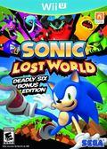 WiiU Sonic Lost World 音速小子 失落世界(美版代購)
