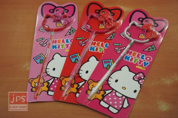 Hello Kitty 蝴蝶節拉管筆 (粉&白&紅)