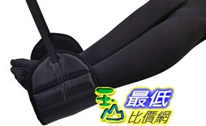 [8美國直購] Sleepy Ride 飛機腳墊Airplane Footrest Made with Premium Memory Foam Travel Accessories Comfort (Jet Black)