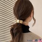 熱賣髮簪 韓國金屬髮釵髮簪簡約現代簪子丸子頭盤髮神器頭飾髮夾后腦勺髮飾 coco