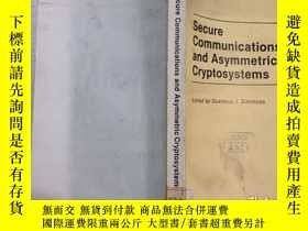 二手書博民逛書店Secure罕見Communications and Asymm