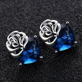 玫瑰花耳飾歐美時尚百搭耳環配飾