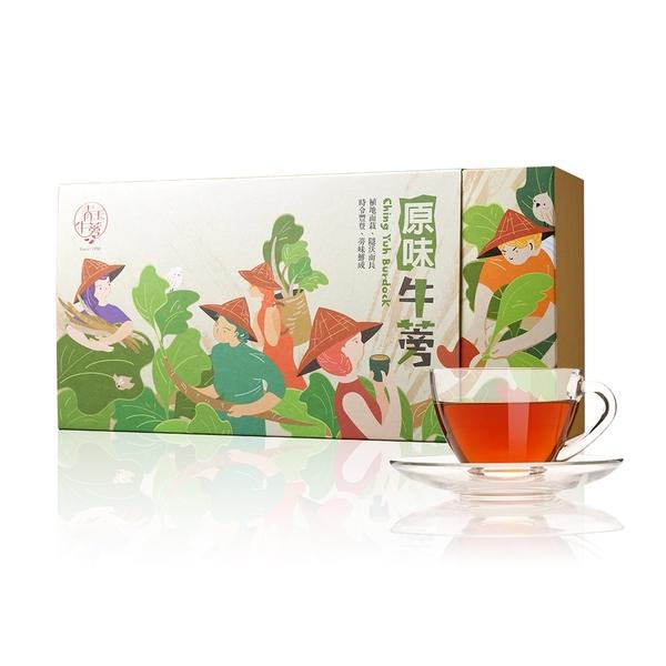 青玉牛蒡茶 原味牛蒡茶包 隨身沖泡包(3g*30包入/1盒)