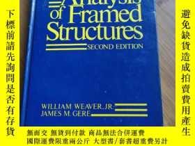二手書博民逛書店Matrix罕見Analysis of Framed Structures 框架結構矩陣分析Y198616 見