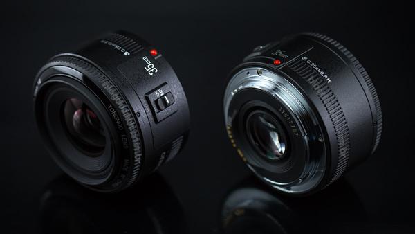 攝彩@Canon用 永諾 YN35mm F2.0 定焦鏡 大光圈 自動手動對焦 人像鏡 廣角鏡頭 虛化背景 YN35