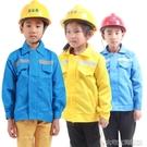 兒童職業工作體驗服 幼兒建築工人礦工角色錶演服 工程師扮演服裝大宅女韓國館