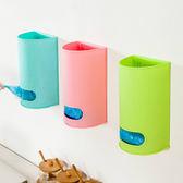 ✭慢思行✭【N169】壁掛抽取式收納盒 廚房 垃圾袋 塑膠 餐具 DIY 組合 懸掛 分類 收納  創意 儲物