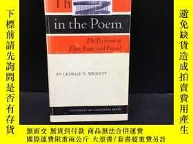 二手書博民逛書店The罕見Poet in the Poem: The Perso