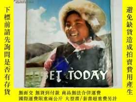 二手書博民逛書店TIBET罕見TODAY 英文版:今日西藏【12開精裝 書衣舊】