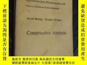二手書博民逛書店Constructive罕見AnalysisY146810 Er